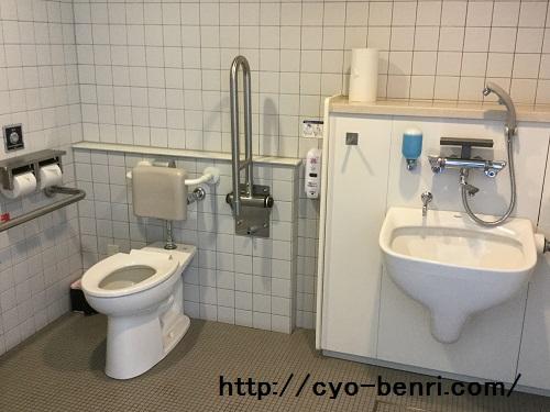 博物館駐車場トイレ5