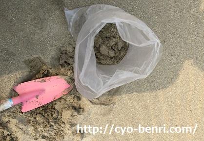 稲佐の浜 砂2