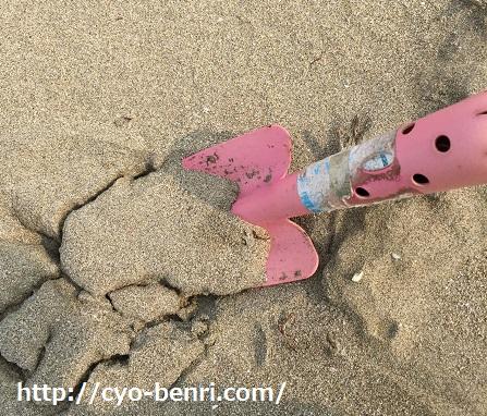 稲佐の浜 砂1